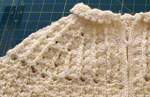 CROCHETED CAPELET PATTERN – Online Crochet Patterns
