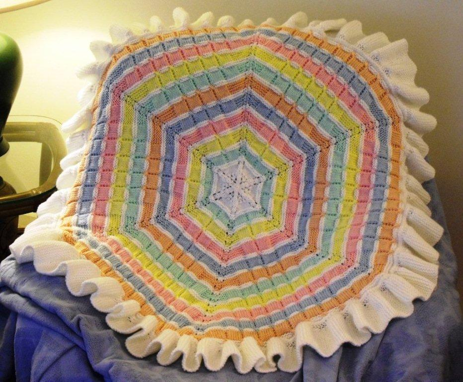One Piece Knitted Afghan Patterns