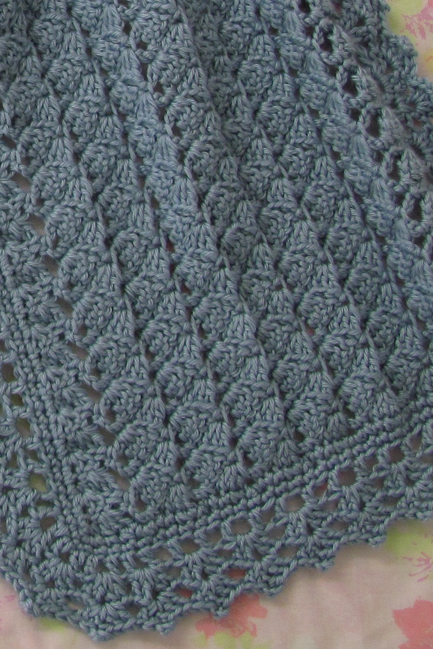 Crochet Stitches For Shawls : free easy crochet prayer shawl patterns Quotes